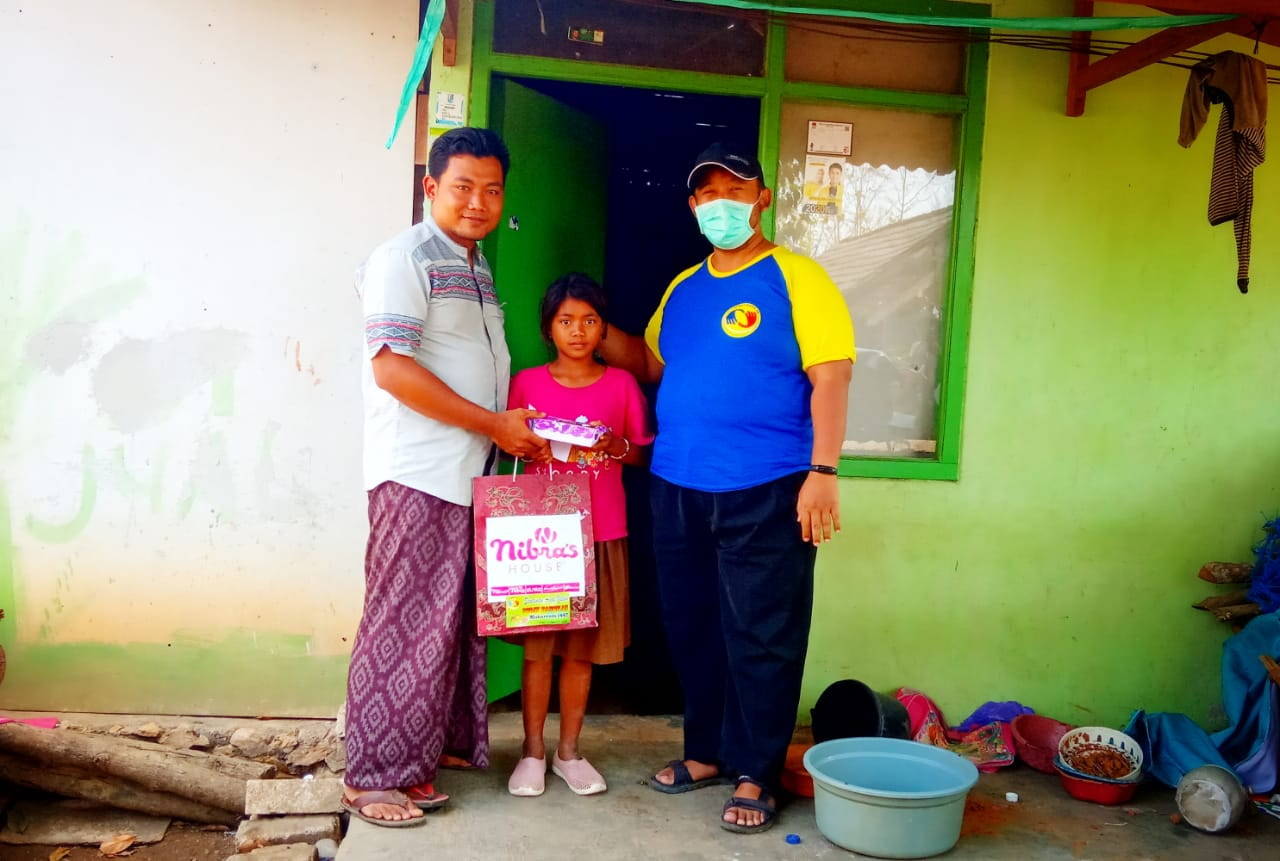Santunan Anak Yatim Piatu, Sobat Bangilan