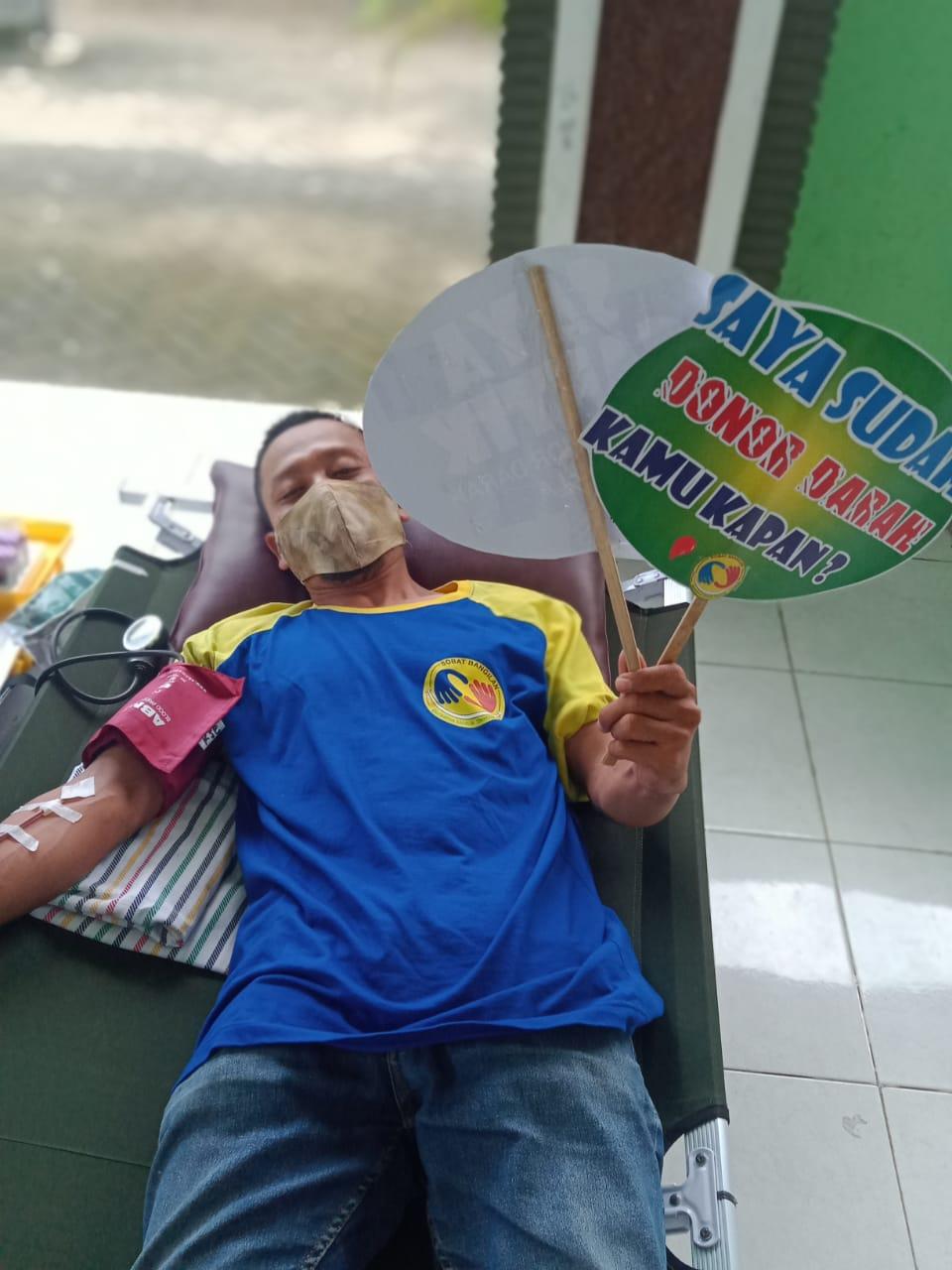 Awal 2021 Sobat Bangilan Adakan Kegiatan Donor Darah