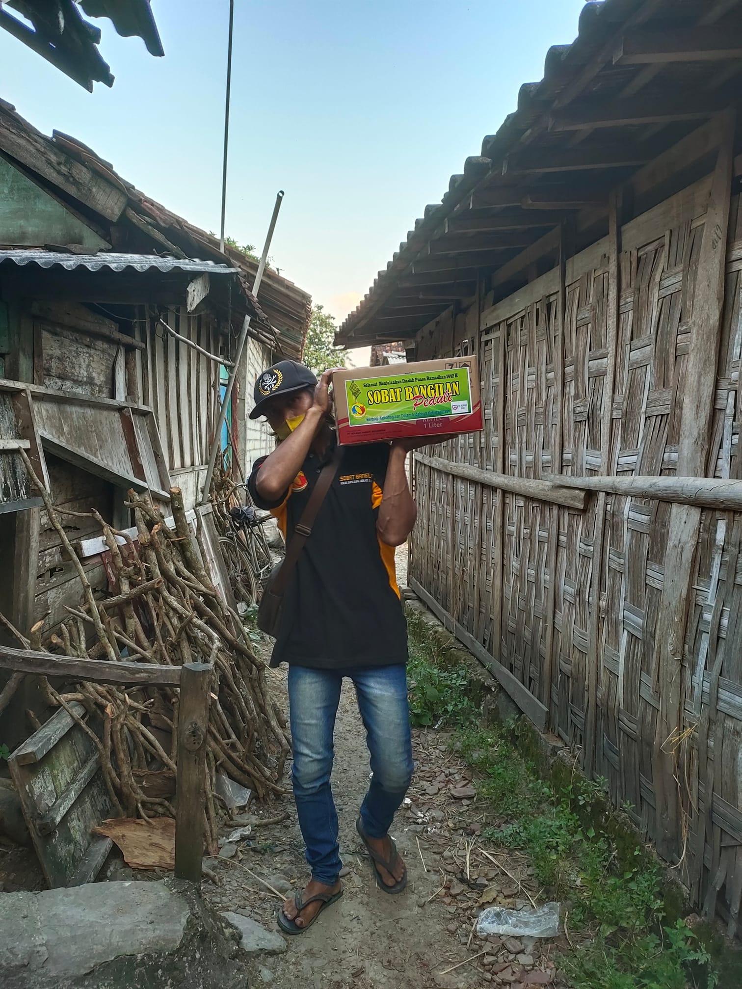Jum'at Silaturahmi, Belajar Peduli didesa Bate