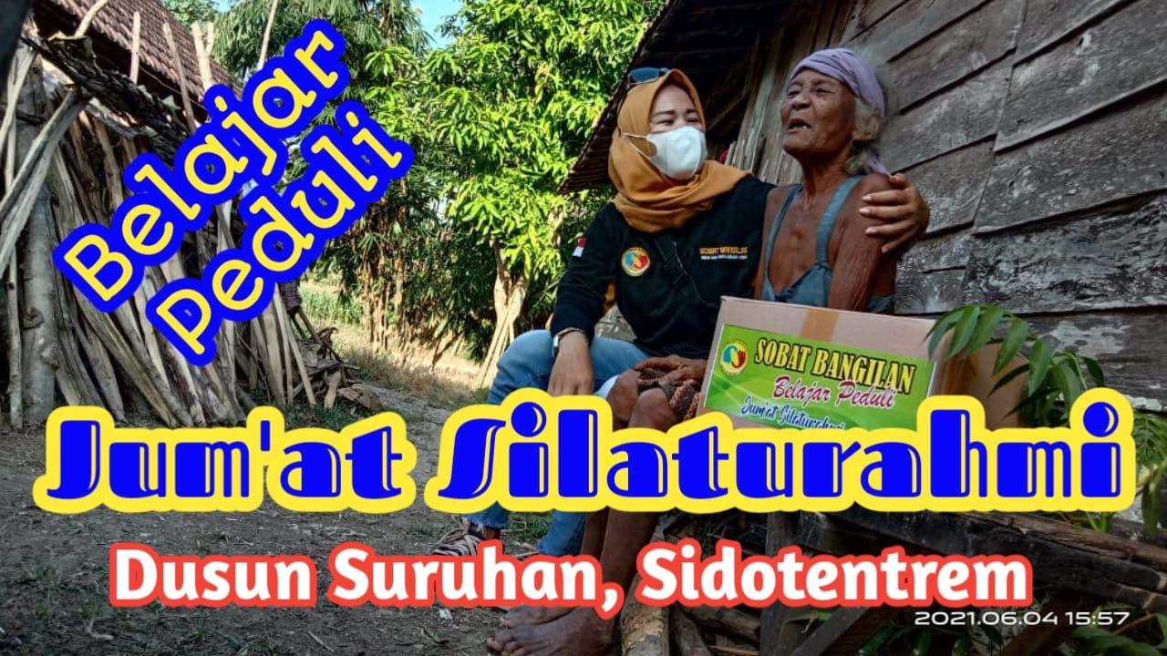 Jum'at Silaturahmi, Belajar Peduli Dusun Suruhan Desa Sidotentrem